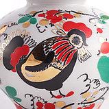 Чайник заварочный Петушки. Императорский фарфор, Санкт-Петербург, фото 6