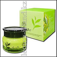 Крем для лица увлажняющий с экстрактом зелёного чая.