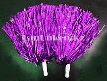 Помпоны для чирлидинга большие (фиолетовые)
