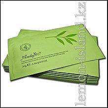 Маска для лица увлажняющая с экстрактом зелёного чая.