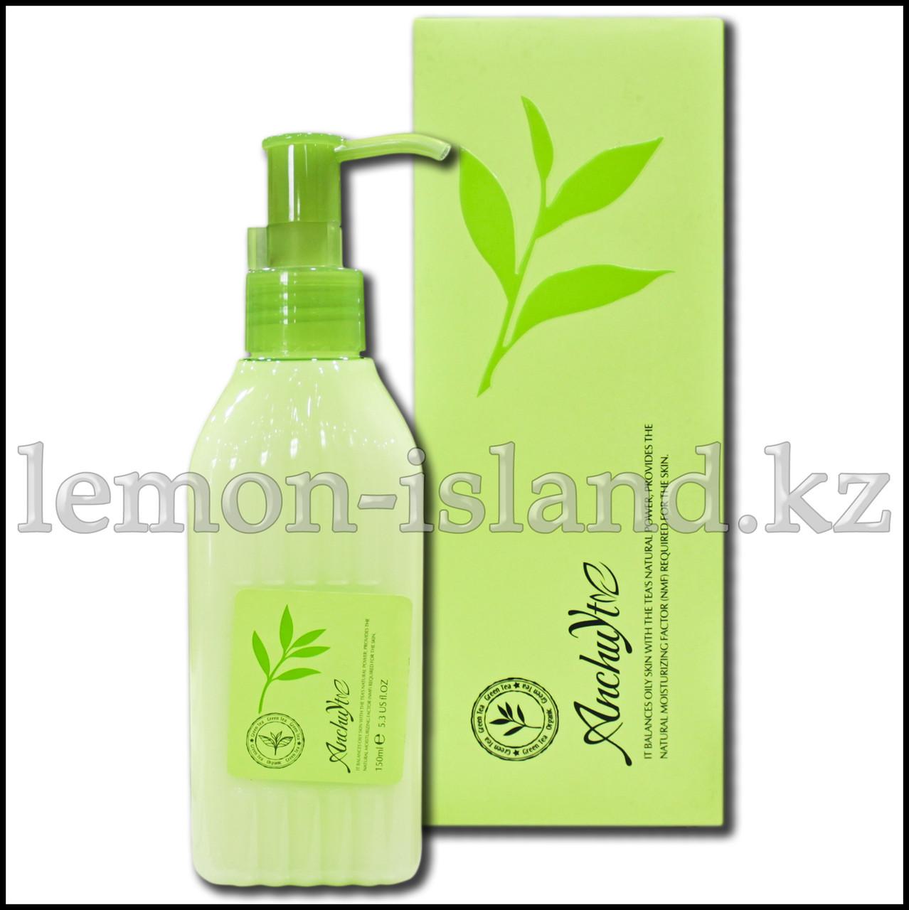 Лосьон для лица очищающий и увлажняющий с экстрактом зелёного чая (Таиланд).