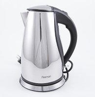 5900 FISSMAN Чайник электрический VALLETTA 1,7 л (нерж. сталь)