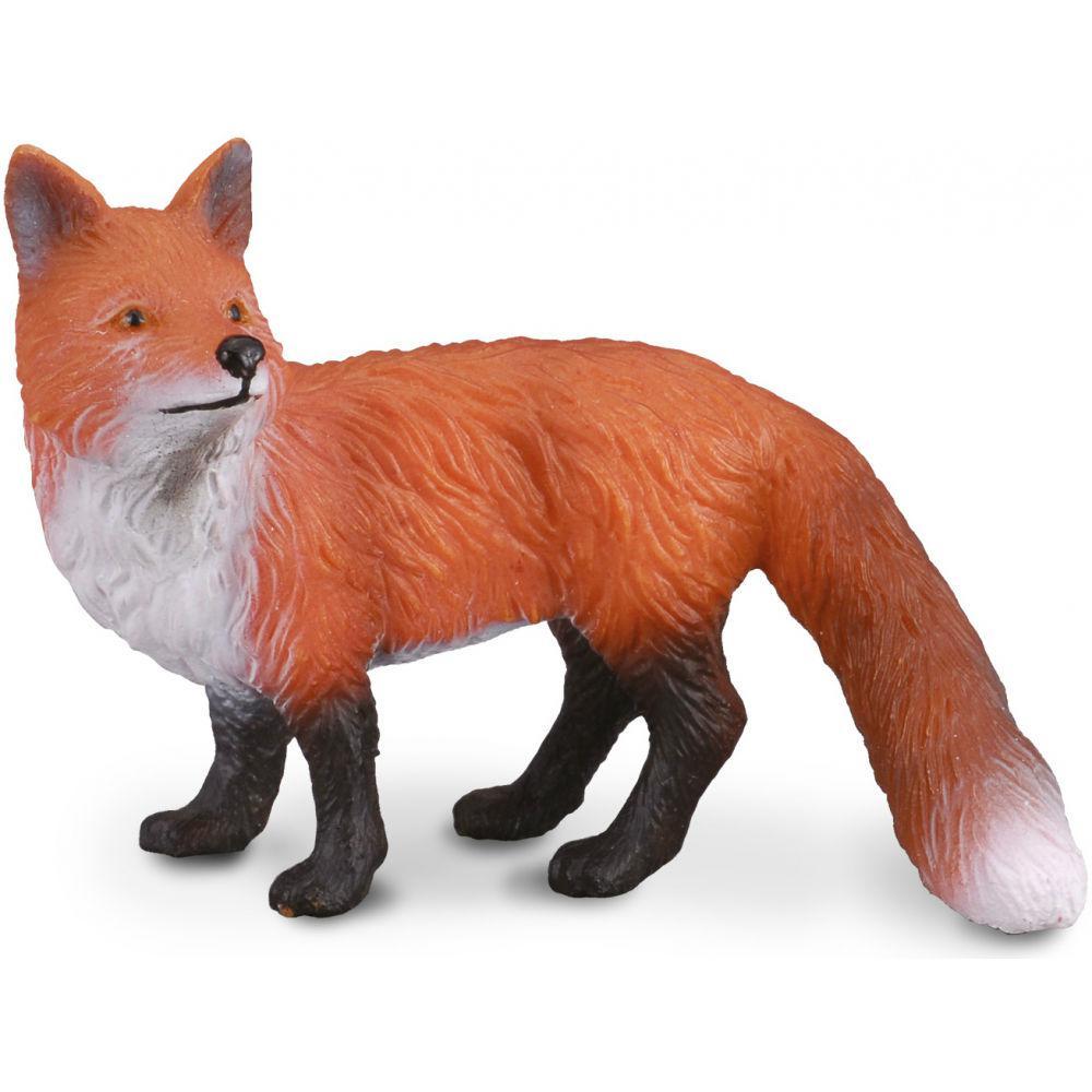 CollectA Фигурка Рыжая лисица, 7 см
