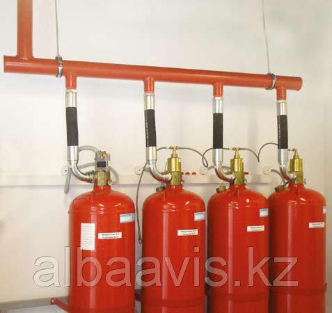 Обслуживание и монтаж газовых систем охранной пожарной сигнализации ОПС