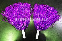 Помпоны для чирлидинга маленькие (фиолетовые)