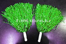 Помпоны для чирлидинга маленькие (зеленые)