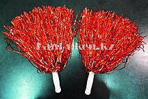 Помпоны для чирлидинга маленькие (красные)