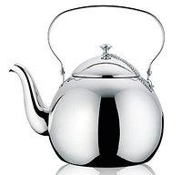 5940 FISSMAN Чайник для кипячения воды WHITE PEONY 1 л (нерж. сталь)