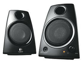 Компактная акустика 2.0 Logitech Z130 5W RMS черный