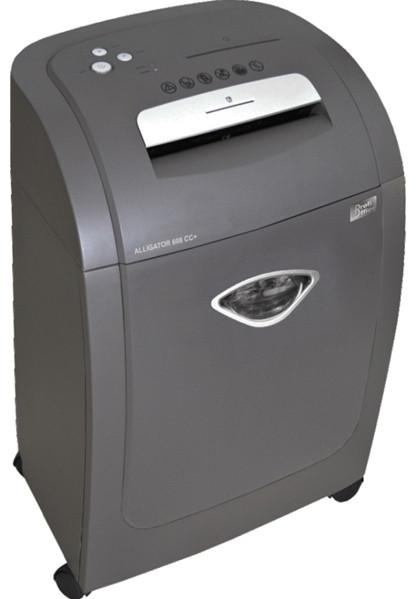 Шредер секр.3(4x44мм) 418x310x630см, 20 листов, 1CD, пласт.карточка, 32л, 16.7кг, ProfiOffice