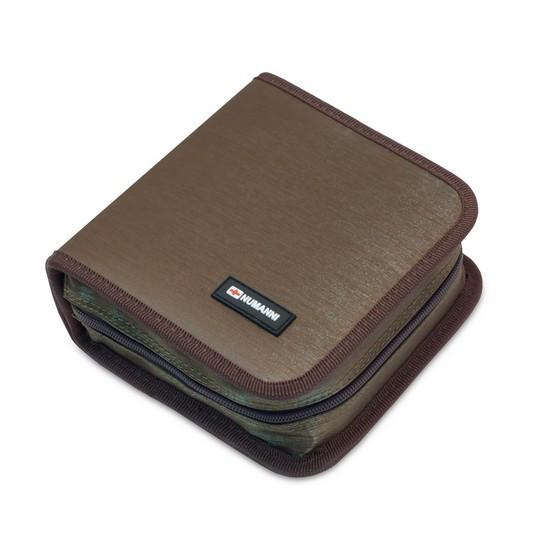 Сумка для дисков, NUMANNI, DB1252KH, Вместимость: 52 диска, Коричневый