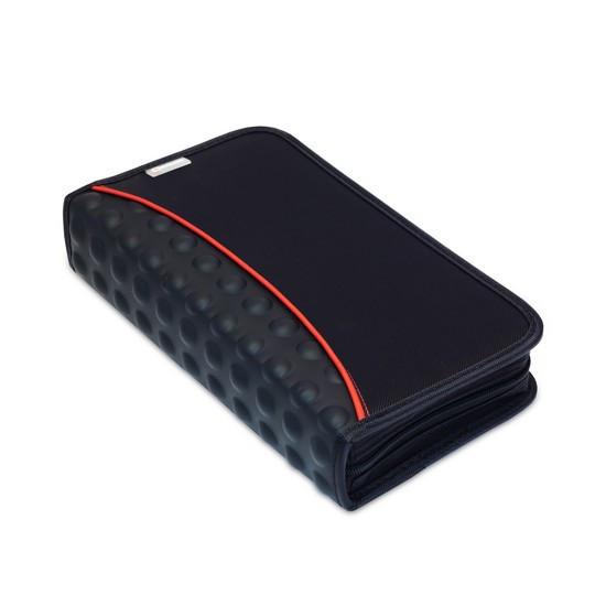 Сумка для дисков, NUMANNI, DB1280B, Вместимость: 80 дисков, Чёрный