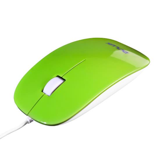 Мышь, Delux, DLM-111OUG, 3D, Оптическая, 800dpi, USB, Длина кабеля 1,6 метра, Размер: 112,1*56,5*26,