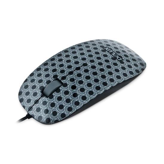 Мышь, Delux, DLM-111OUM, 3D, Оптическая, 800dpi, USB, Длина кабеля 1,6 метра, Размер: 112,1*56,5*26,