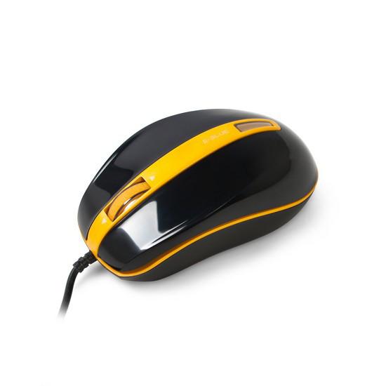 Мышь, E-Blue, S-brigo-S EMS113OG, Оптическая, 1480dpi, Проводная, USB 2.0, Черный