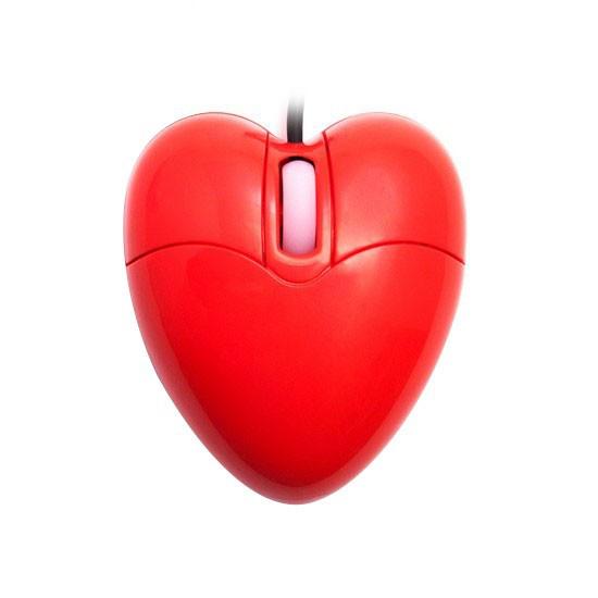 Мышь, X-Game, HM-01OUR, Оптическая 800dpi, USB, Виде сердца, Красная