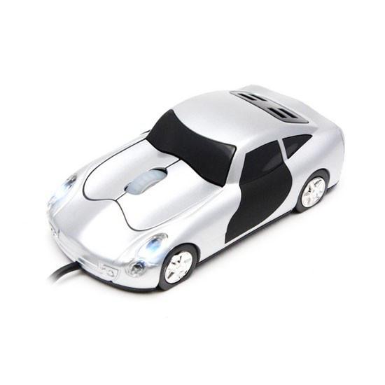 Мышь, X-Game, CM-01OUS, Оптическая 800dpi, USB, Виде машины, Серебристый