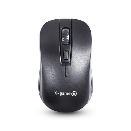 Мышь, X-Game, XM-122OGB, Оптическая, 3D, 1000dpi, Беспроводной, Чёрный