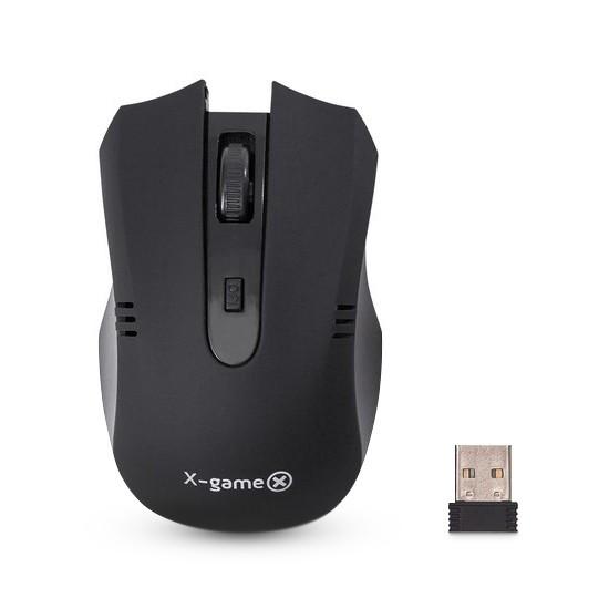 Мышь, X-Game, XM-300OGB, Оптическая, 5D, 1000dpi, Беспроводная, Чёрный