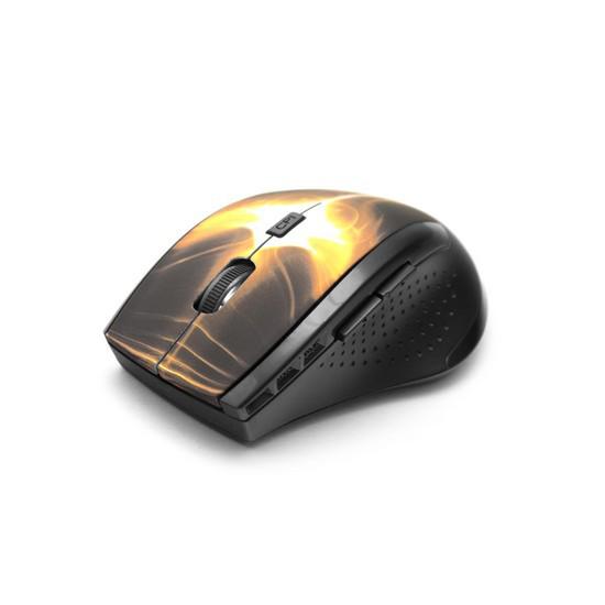 Мышь, X-Game, XM-360OGD, 6D, Оптическая, 800-1200dpi, Беспроводная 2.4ГГц, Молдинг