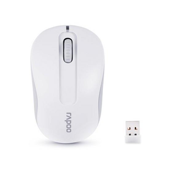 Мышь, Rapoo, M-10, 3D, Оптическая, 1000dpi, Беспроводной 2.4 ГГц, Нано-ресивер, Эффективная дистанци