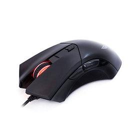 Мышь, Delux, DLM-553OUB, Игровая, Оптическая, 600-1000-1600dpi, С дополнительным весовым блоком, Рез