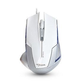 Мышь, E-Blue, Mazer EMS124WH, Оптическая, 600/1200/1800/2400dpi, Проводная, Белый