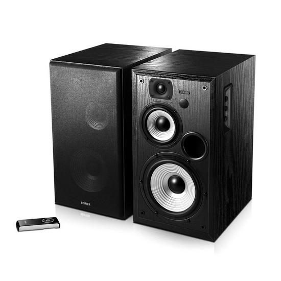 Колонки, Edifier, R2700, RMS 64 W*2, Профессиональный 5 контактный XLR разъём, Чёрный