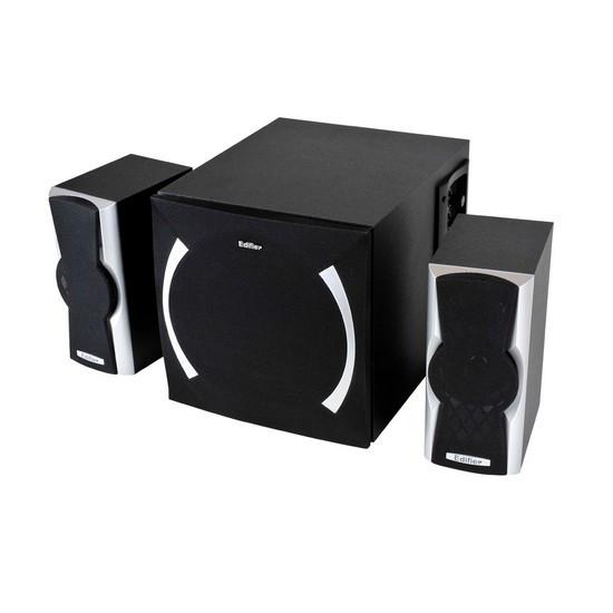 Колонки, Edifier, X600, 2.1, RMS 14W+8W*2, Чёрный