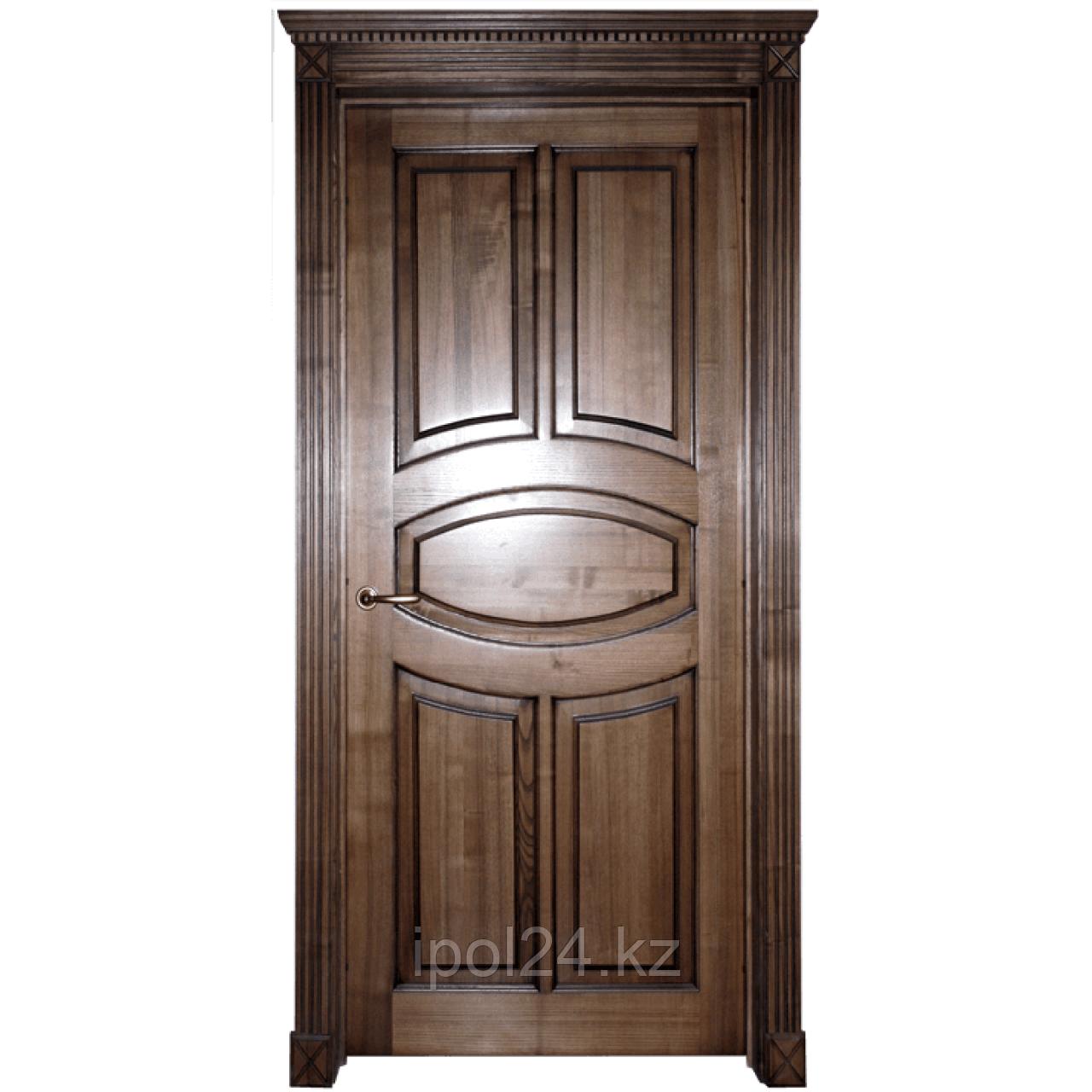 Дверь массив дуб ясень Фабер