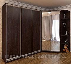 Угловые шкафы-купе на заказ Алматы, фото 2