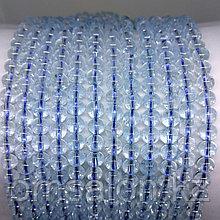 Топаз голубой натуральный, 6мм