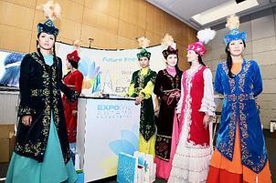 Национальные казахские платья