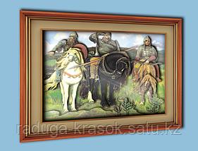 """Объемный постер """"Три богатыря"""""""