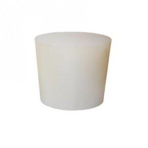 Пробка конусная силиконовая, 17мм