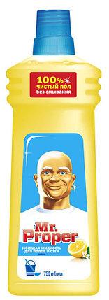 МОЮЩЕЕ СРЕДСТВО для мытья полов Mr.Proper 750мл., фото 2