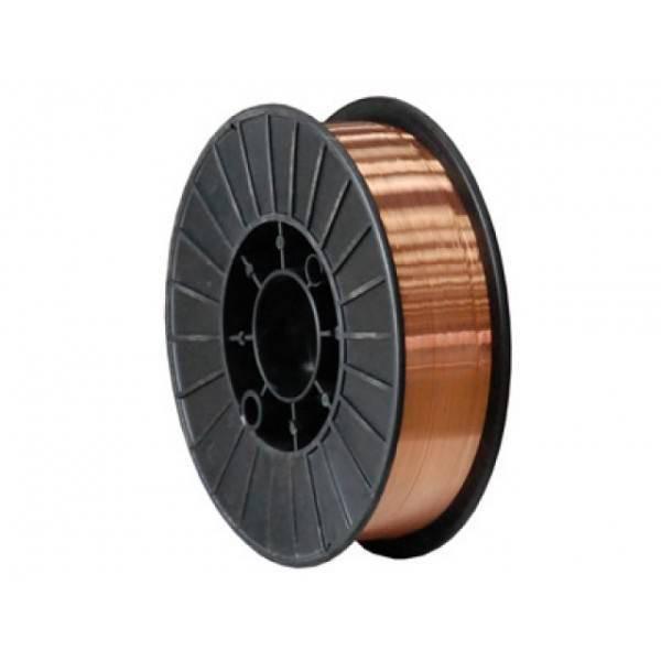 Проволока сварочная омедненная  диаметром 0,8-мм (кассета 5 кг)