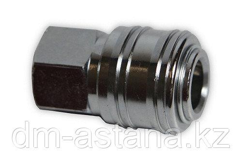 Клапан быстроразъемного соединения с внутренней резьбой