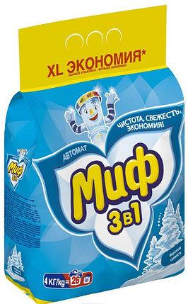 СТИРАЛЬНЫЙ ПОРОШОК МИФ автомат 4кг., фото 2