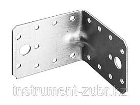 Уголок крепежный усиленный УКУ-2.0, 55х70х70 х 2мм, ЗУБР