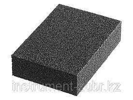"""Губка шлифовальная STAYER """"MASTER"""" четырехсторонняя, зерно - оксид алюминия, Р320, 100 x 68 x 26 мм."""