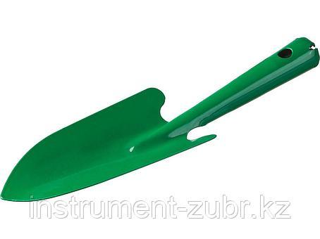 Совок посадочный РОСТОК с металлической ручкой, широкий, рабочая часть - 170мм, фото 2
