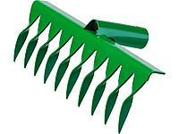 Грабли, РОСТОК 39600-10, 10 зубцов, витые, 260x72 мм