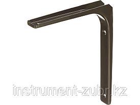 "Уголок-кронштейн STAYER ""MASTER"", 200х250х1,2мм, коричневый"