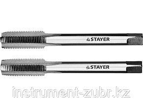 "Комплект метчиков STAYER ""MASTER"", сталь 9ХС, М10х1,0, 2 шт, фото 2"
