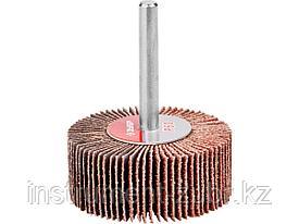 """Круг шлифовальный ЗУБР """"МАСТЕР"""" веерный лепестковый, на шпильке, тип КЛО, зерно-электрокорунд нормальный, P60, 20х50мм"""