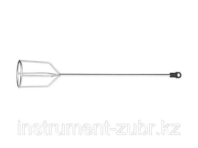 """Миксер STAYER """"MASTER"""" для гипсовых смесей и наливных полов, шестигранный хвостовик, оцинкованный, 80х530мм, фото 2"""