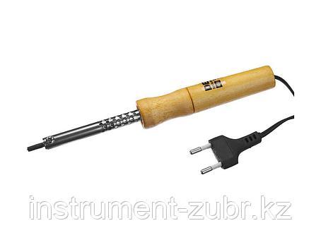 Паяльник DEXX с деревянной рукояткой, конус, 40Вт, фото 2