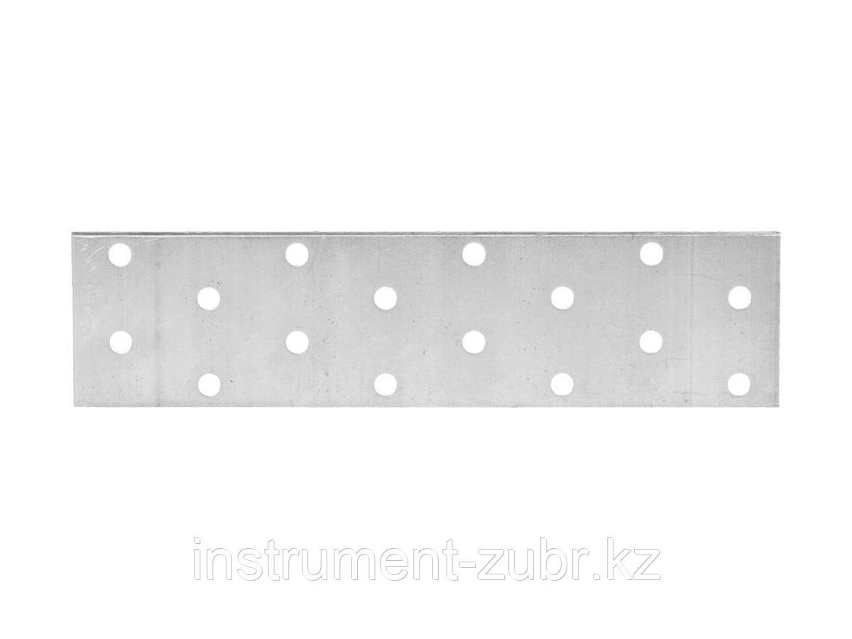 Пластина соединительная, 40х160мм, 20шт, ЗУБР Мастер 310255-040-160