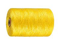 Шпагат ЗУБР многоцелевой полипропиленовый, желтый, d=1,8 мм, 500 м, 50 кгс, 1,2 ктекс